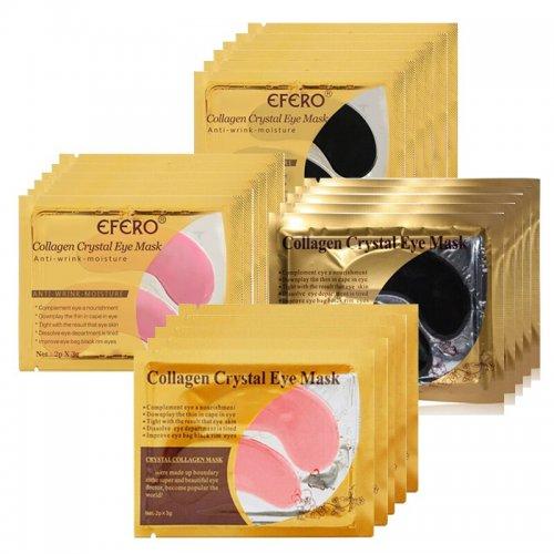 Paquete x 5 pares (10 piezas) de colageno para ojos