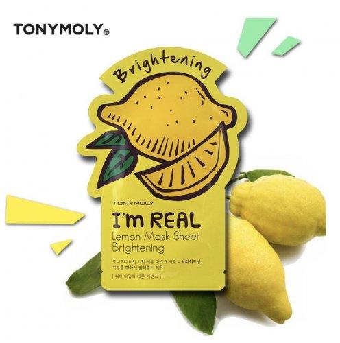 Mascarilla aclarante Tony Moly de Limón