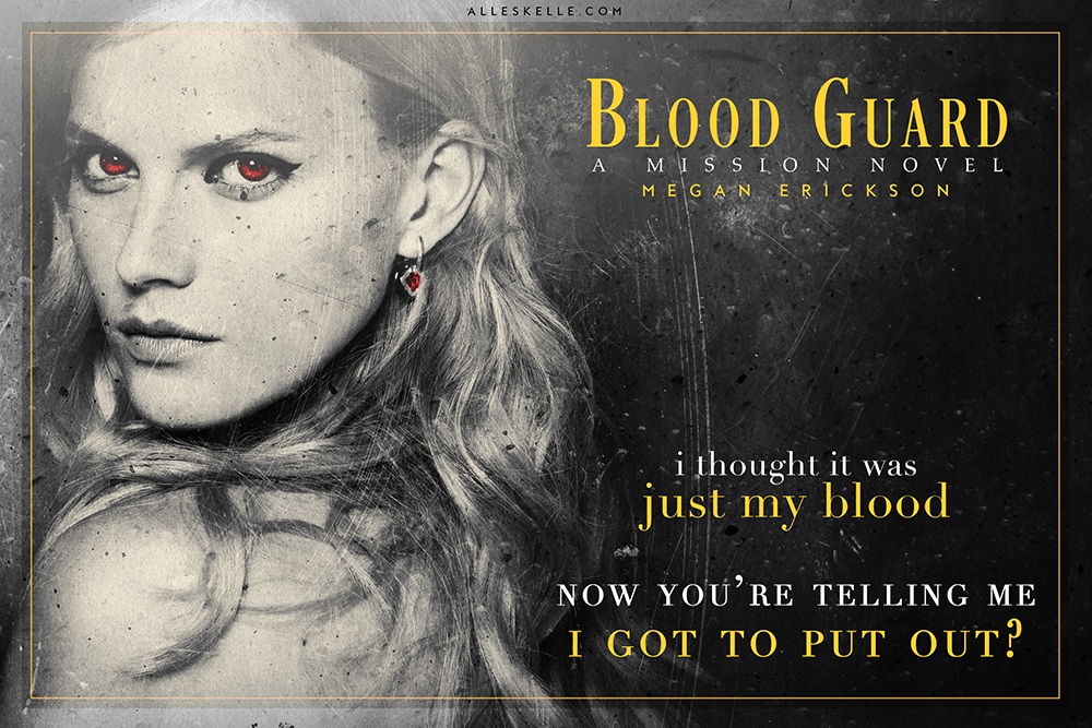 The blurb of Blood Guard is pretty self explanatory, I didn't hesitate one  second after reading it, it screamed three things for me : alpha male, ...