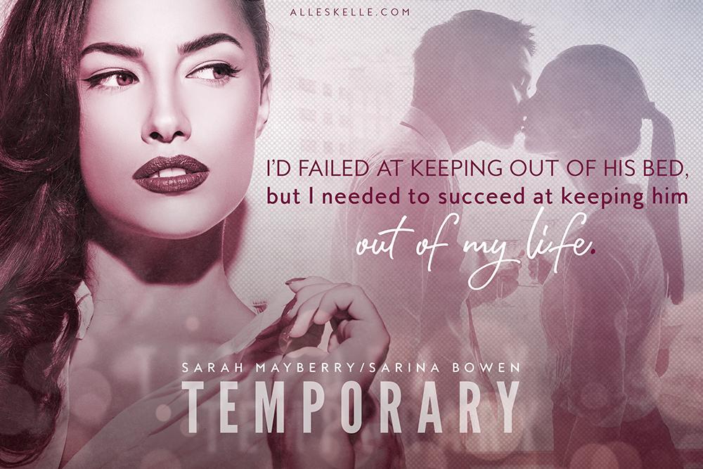Temporary by Sarina Bowen