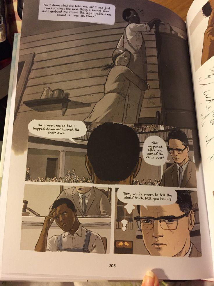 A Graphic Novel To Kill a Mockingbird