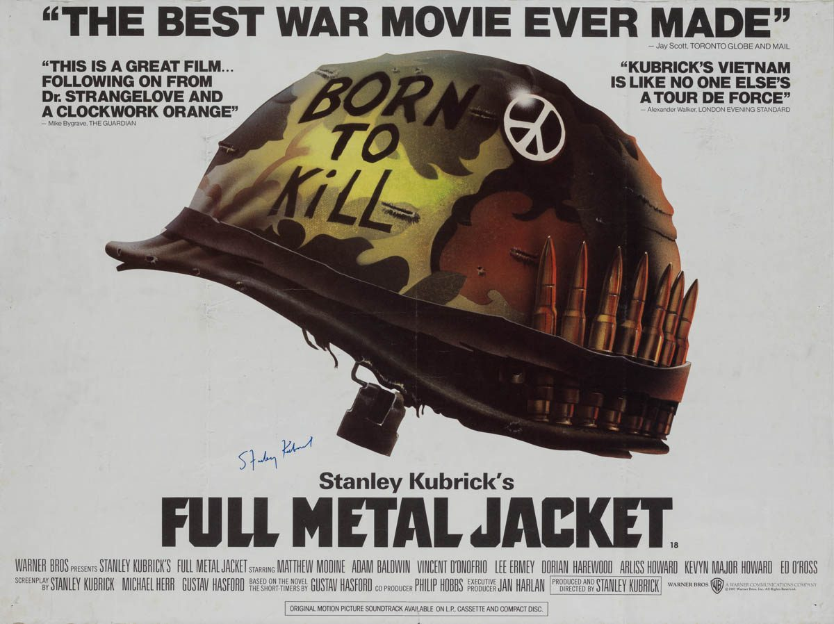 Image result for full metal jacket poster