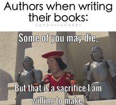Image result for author talks meme