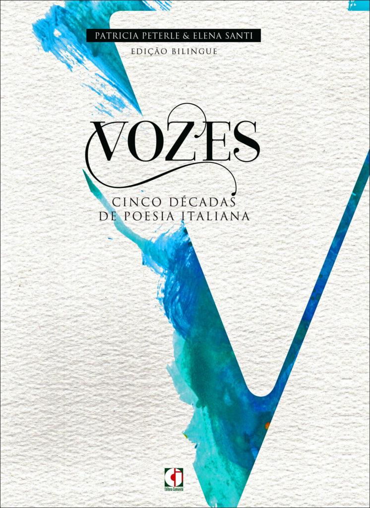 livro VOZES poesias italianas