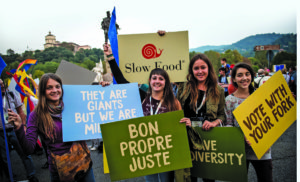 Slow Food contra a febre do planeta
