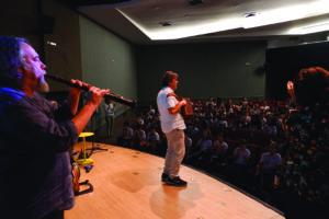Ambrogio Sparagna & l'Orchestra in Brasile