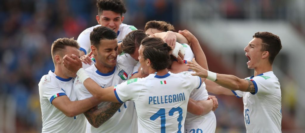 Seleção italiana se classifica para as oitavas do Mundial Sub-20