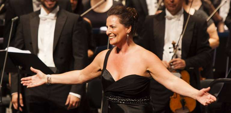 Soprano italiana Maria Pia Piscitelli se apresentará no Rio de Janeiro