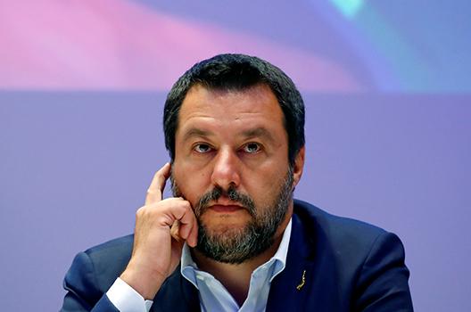 Nacionalista Matteo Salvini sofre revés, mas vai tentar dar a volta por cima