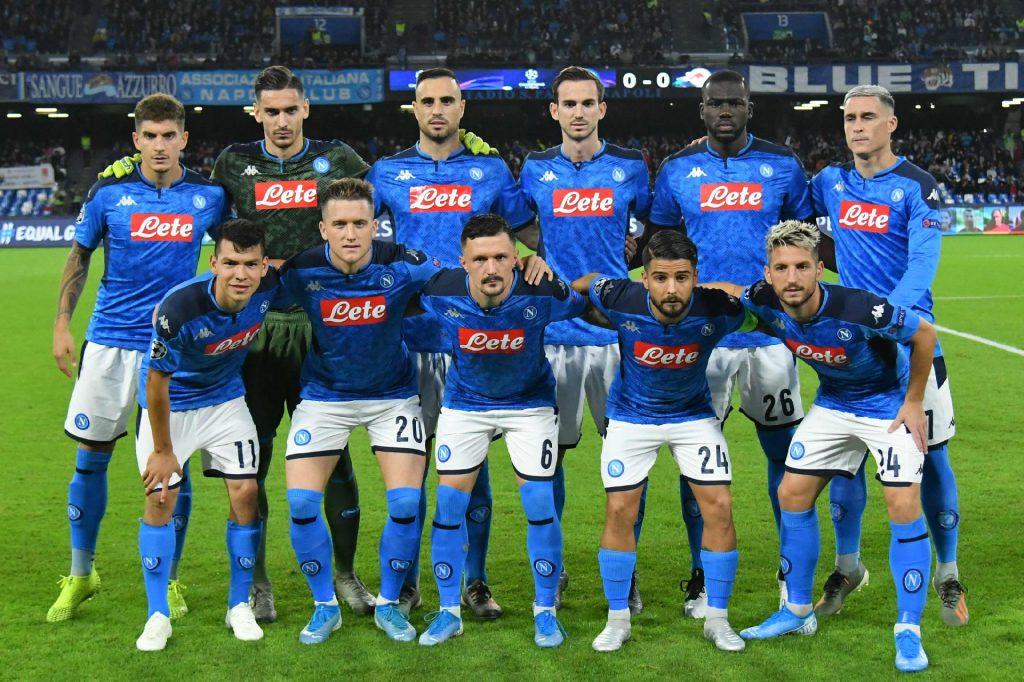 Napoli e Lazio adiam volta aos treinos devido à pandemia