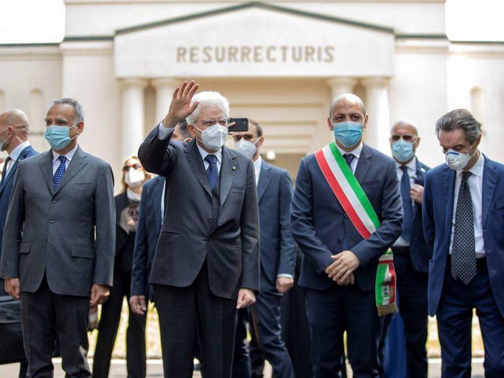 Mattarella elogia UE e imprensa durante pandemia
