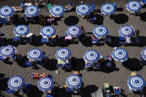 Fotógrafa registra início da reabertura na Costa Amalfitana