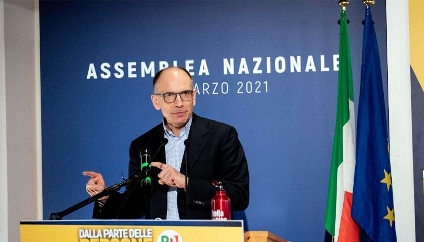 Enrico Letta é eleito novo chefe do Partido Democrata na Itália