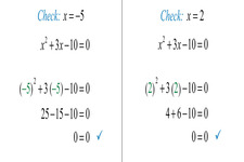 Checking Solutions to Equations