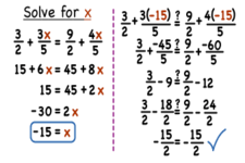Equations with Variables on Both Sides | CK-12 Foundation