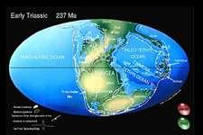 Mesozoic Plate Tectonics