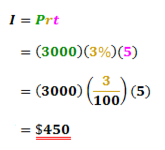Simple Interest Equation to Find Interest Rate ( Assessments ...