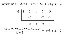 Synthetic Division Worksheet & dividing polynomials synthetic ...