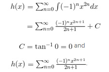 Term-By-Term Integration of Power Series