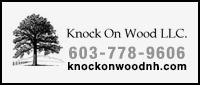 Website for Knock on Wood, LLC.