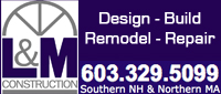 Website for L & M Construction, Inc.
