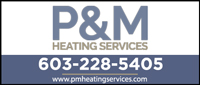 Website for P & M Heating Services
