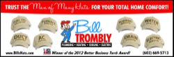 Website for Bill Trombly Plumbing, Heating and Cooling