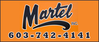 Website for Martel Plumbing & Heating, Inc.