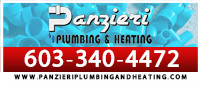 Website for Panzieri Plumbing and Heating LLC