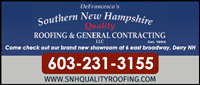 Website For DeFrancescou0027s Southern NH Quality Roofing U0026 General  Contracting, LLC