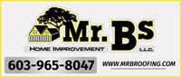 Website for Mr. B's Roofing