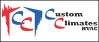 Website for Custom Climates HVAC, LLC