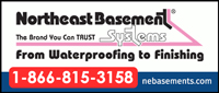 Website for Northeast Basement Systems LLC