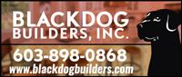 Website for Blackdog Builders, Inc.