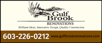 Website for Gulf Brook Renovations Corp.