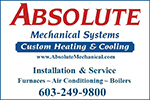 Website for Absolute Mechanical Systems, Inc