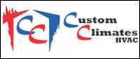 Website for Custom Climates HVAC, LLC
