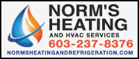 Website for Norm's Heating & Refrigeration
