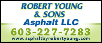 Website for Robert Young & Son's Asphalt Paving
