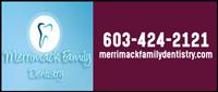 Website for Merrimack Family Dentistry