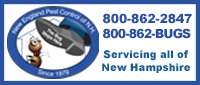Website for New England Pest Control of New Hampshire