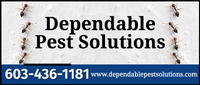 Website for Dependable Pest Solutions, Inc.