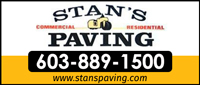 Website for Stan's Paving