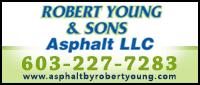 Website for Robert Young & Son's Asphalt Paving