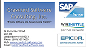 Website for Crawford Software Consulting, Inc.
