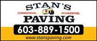 Website for Stan's Paving