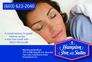 Website for Hampton Inn & Suites