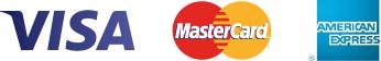 VISA, MasterCard y American Express