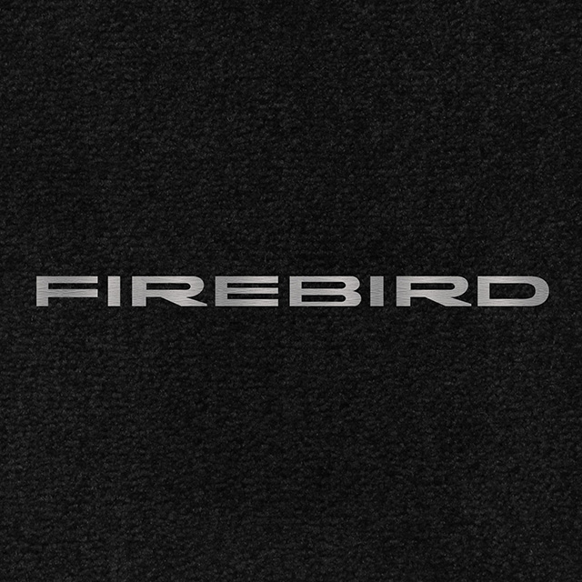 4th Generation Firebird Classic Loop Floor Mats-Choice of Carpet Color /& Logo