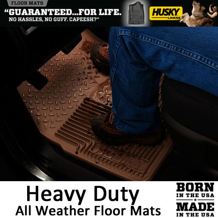 Husky All Weather Floor Mats